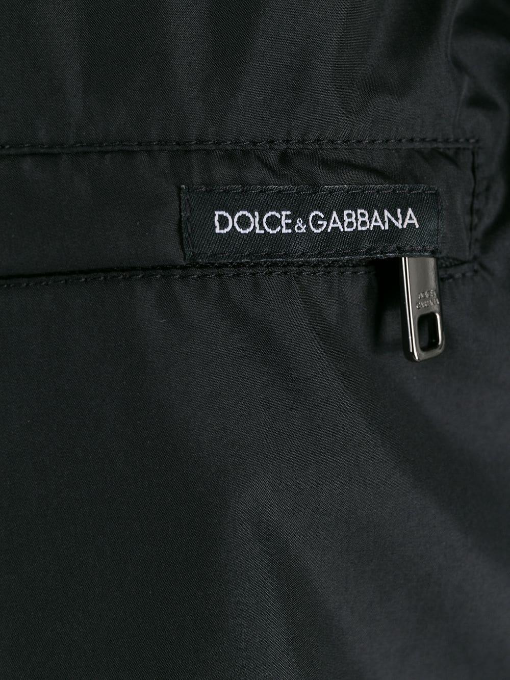 costume boxer nero con banda laterale DOLCE & GABBANA | Costumi | M4A68T-FUSFWN0000
