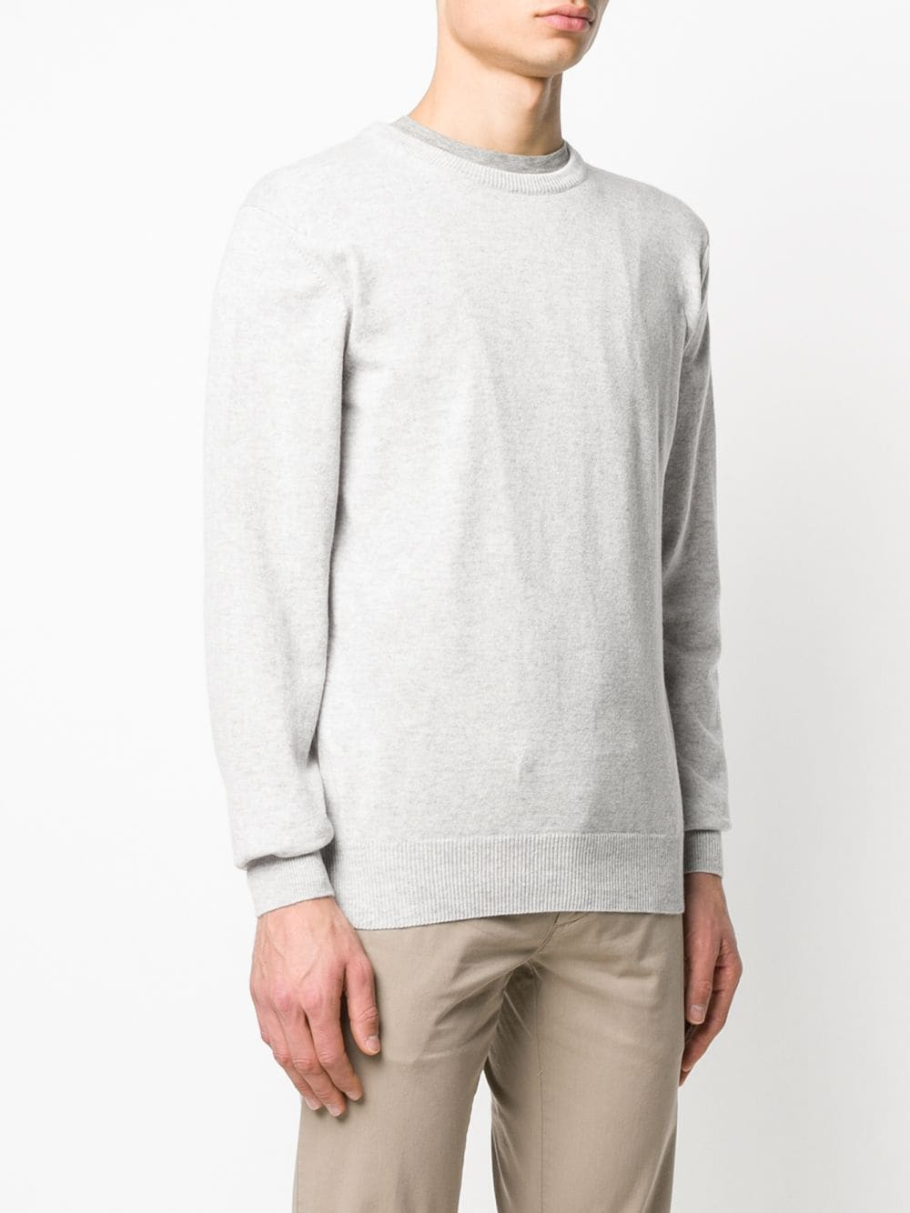 light grey crew-neck cachemere pullover ELEVENTY |  | 979MA0206-MAG2400613