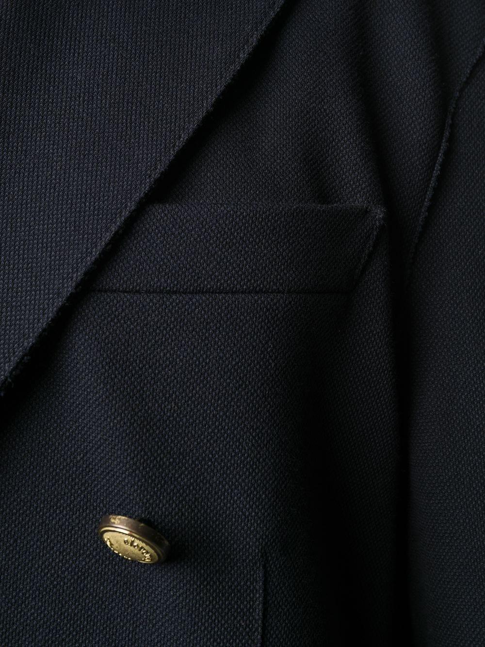 blazer doppioetto blu con bottoni dorati ELEVENTY | Giacche | A70GIA002-JAC2500111S