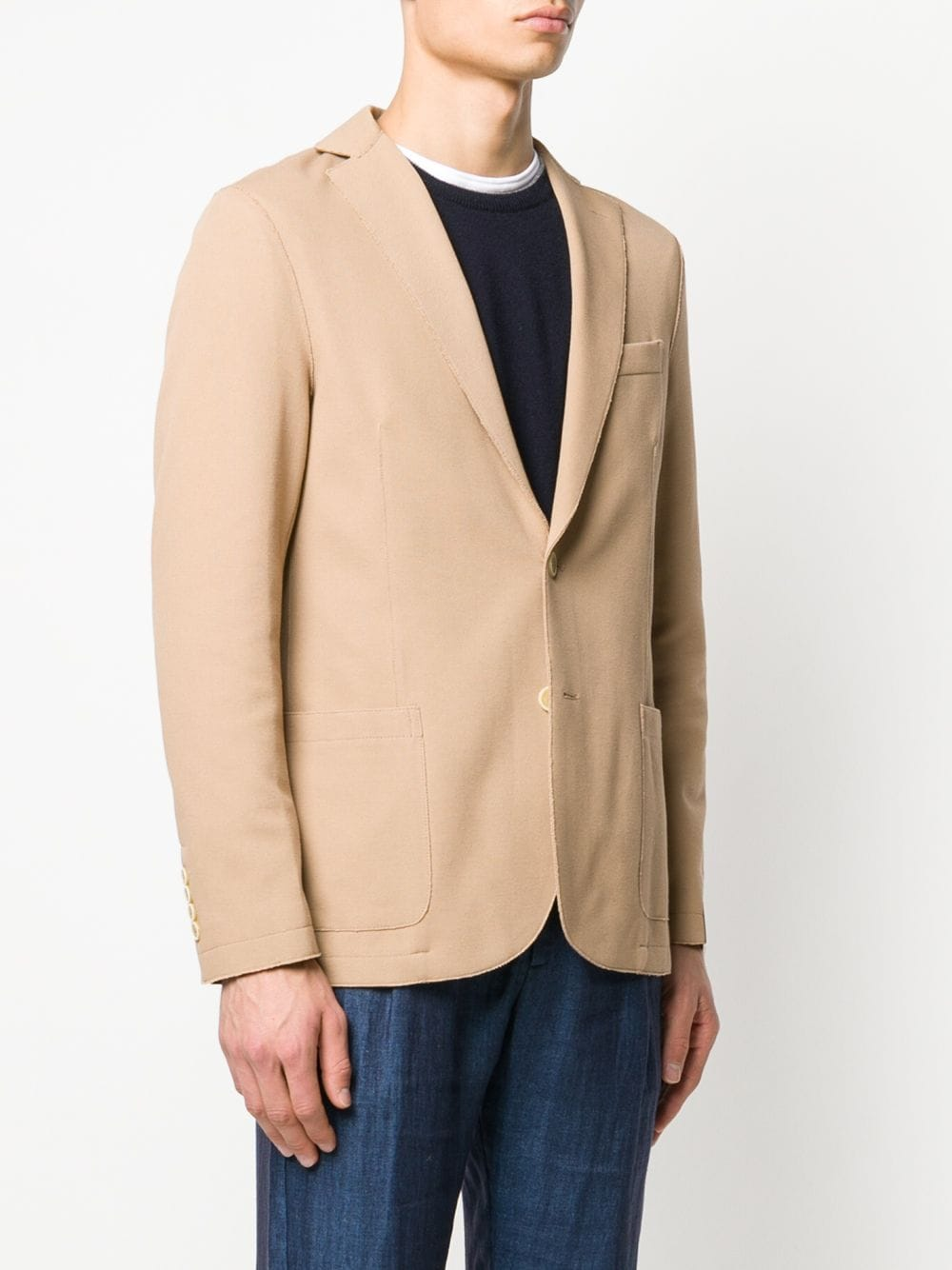 single-breasted cotton camel blazer ELEVENTY |  | A70GIAA01-JAC2500104