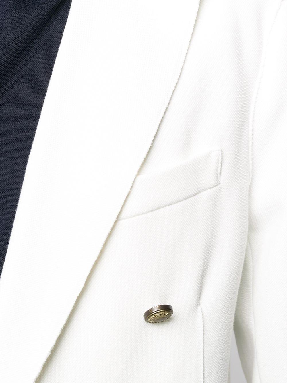 giacca monopetto in cotone bianco ELEVENTY   Giacche   A70GIAA02-JAC2500101