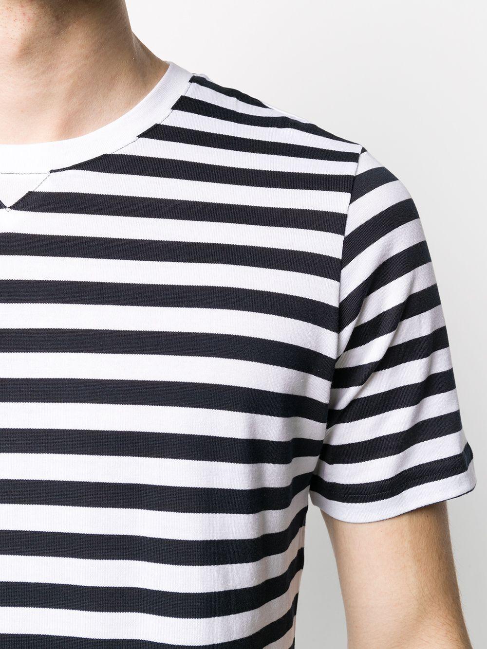 black and white cotton fine knit T-shirt  ELEVENTY |  | A75TSHA01-JER0A00401N-11