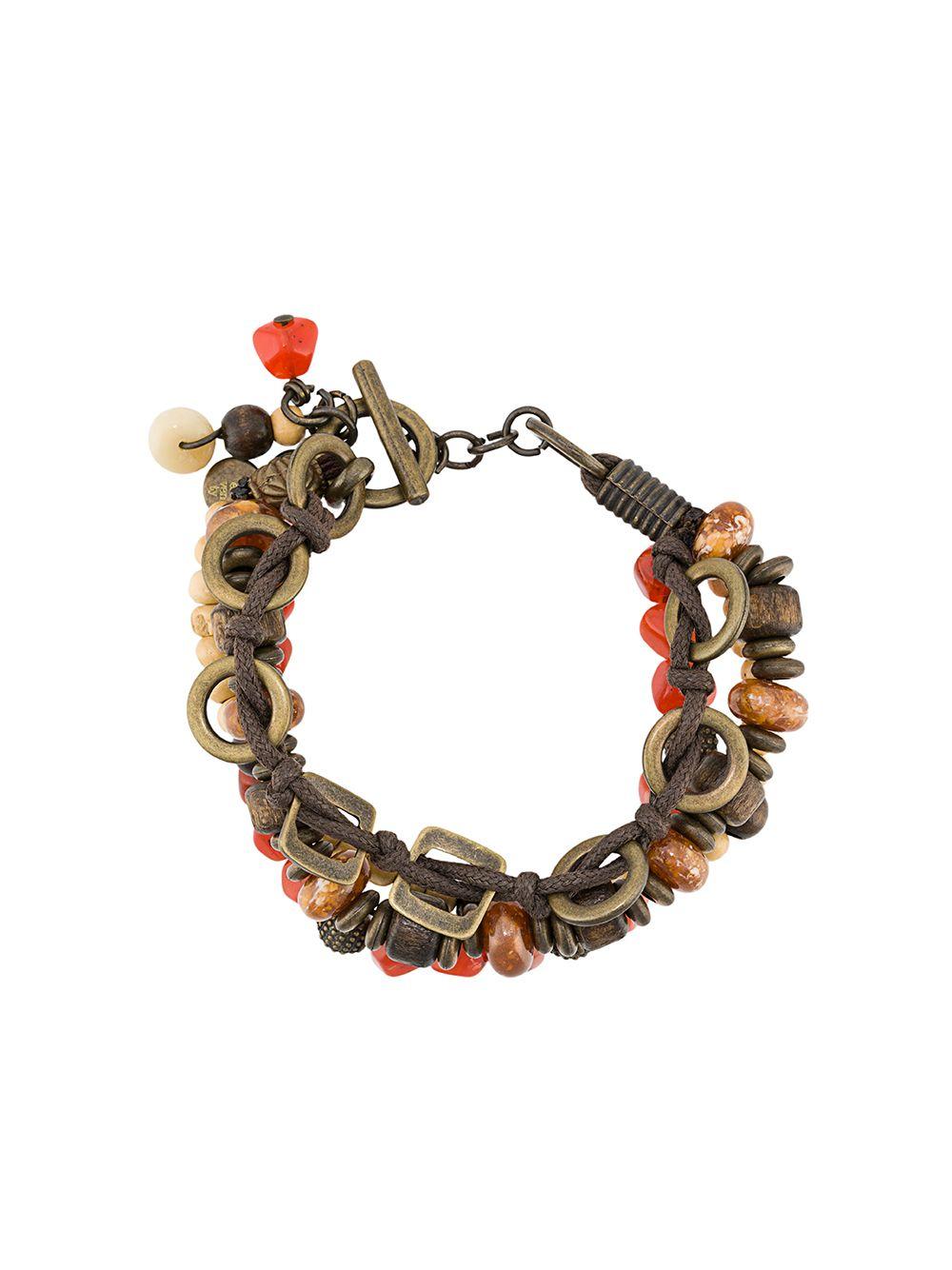 multicolored beaded bracelet with Eleventy logo ELEVENTY      A80BRAA02-ACC0A00609
