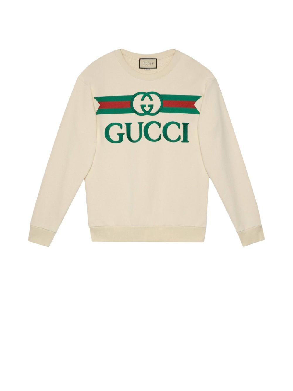 white oversize Gucci sweater GUCCI |  | 469250-XJCCG9230