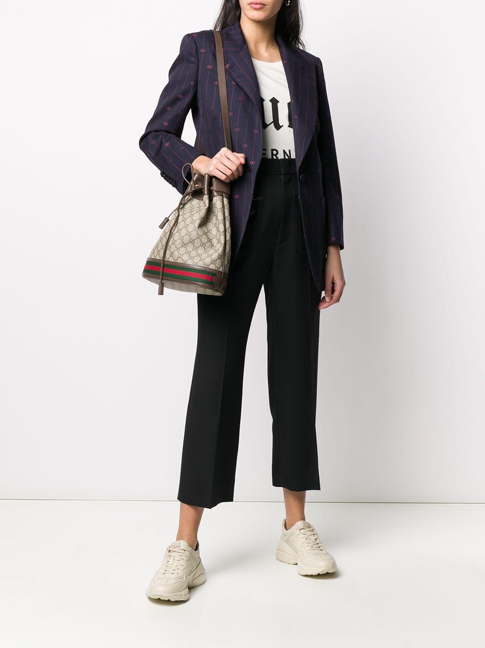 black wool horsebit pocket cropped Gucci trousers  GUCCI |  | 596962-Z8AIF1000