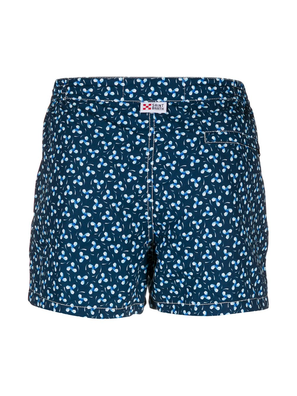 tonal blue Harrys propeller-print swim shorts  MC2 |  | HARRYS-PROPELLER61