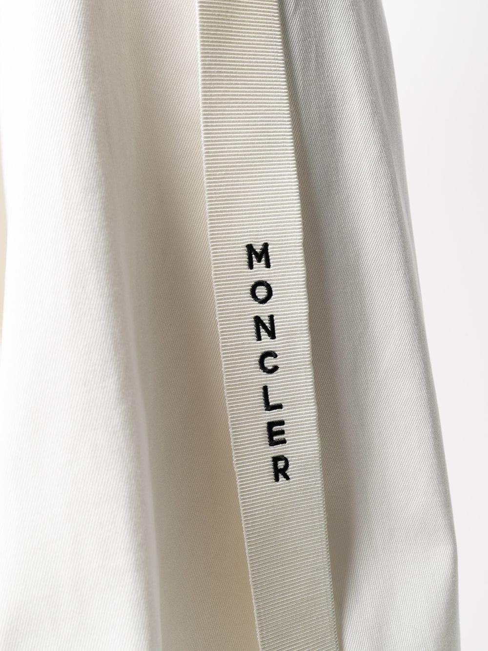 gonna bianca con spacco MONCLER | Gonne | 2D701-00-V0064034