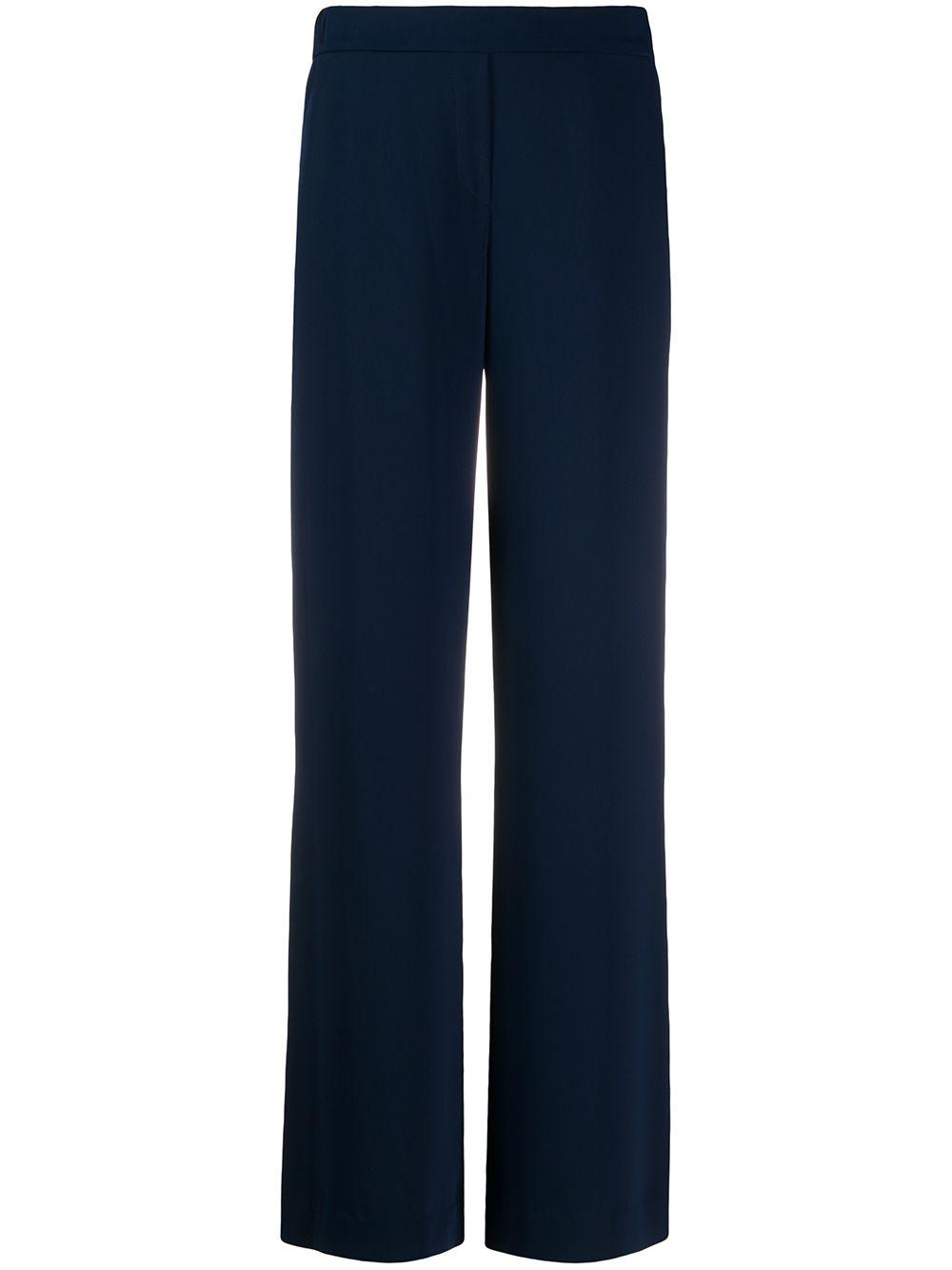 Pantaloni blu svasati con zip nascosta P.A.R.O.S.H. | Pantaloni | D230087X-PANTERS012