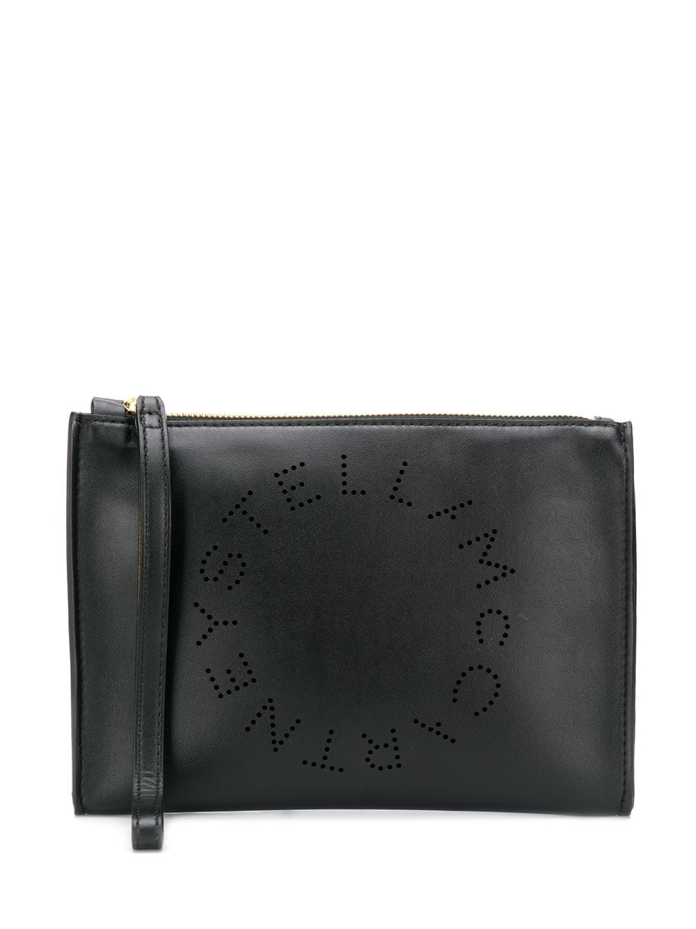 black eco-leather zipped clutch STELLA MC CARTNEY |  | 502892-W85421000