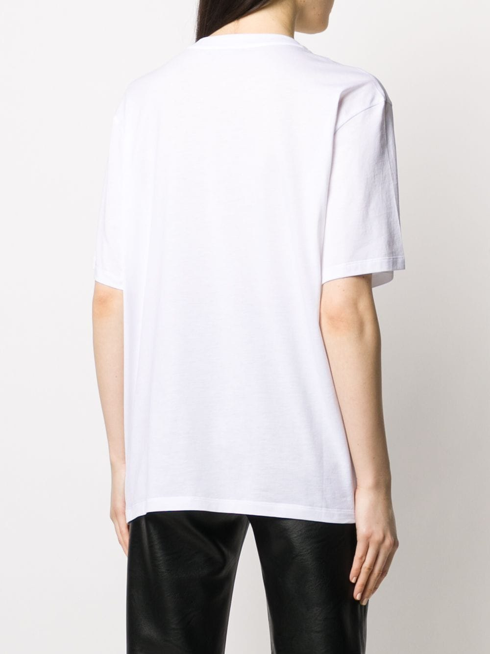 white cotton short sleeves logo t.shirt STELLA MC CARTNEY      511240-SNW639000