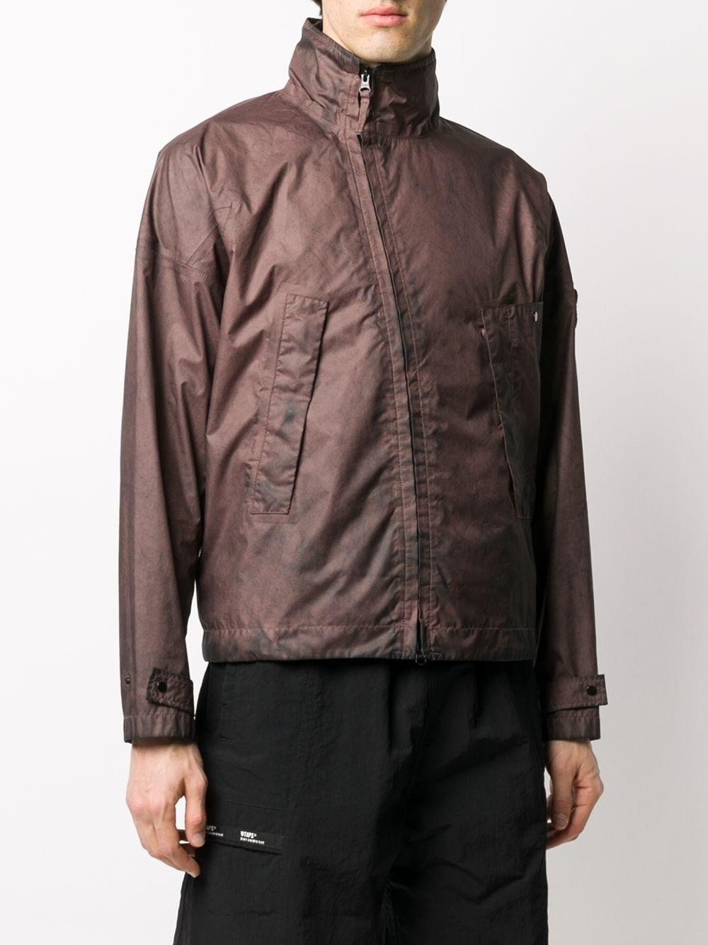 Membrana 3L brown wind breaker jacket STONE ISLAND |  | 721541524V0076