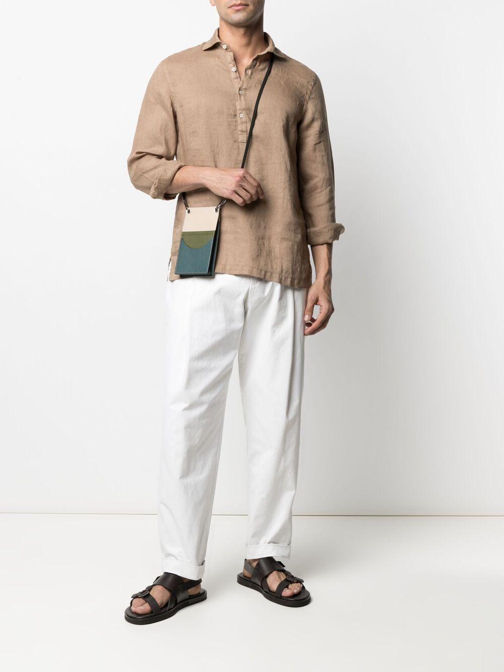 camicia in lino beige a maniche lunghe ALTEA   Camicie   215400234