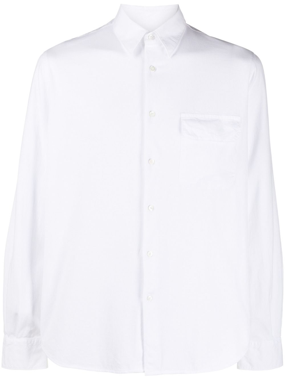 White cotton long-sleeved shirt featuring classic collar ASPESI |  | AY46-940885072