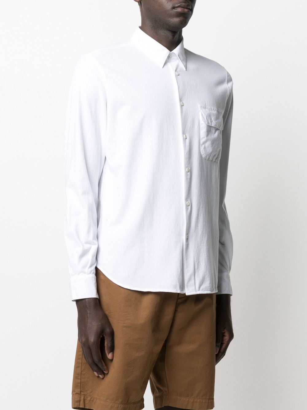 White cotton long-sleeved shirt featuring classic collar ASPESI |  | AY46-940885072
