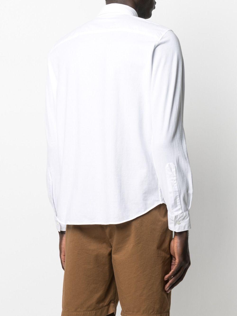 Camicia a maniche lunghe in cotone bianco con colletto classico ASPESI | Camicie | AY46-940885072