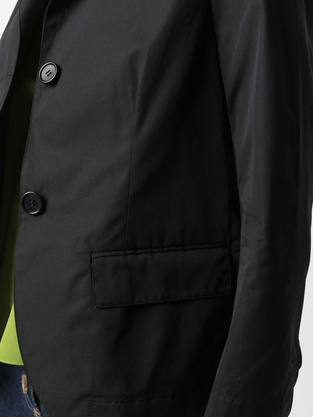 Black cotton short poplin blazer  ASPESI |  | H303-D30785241