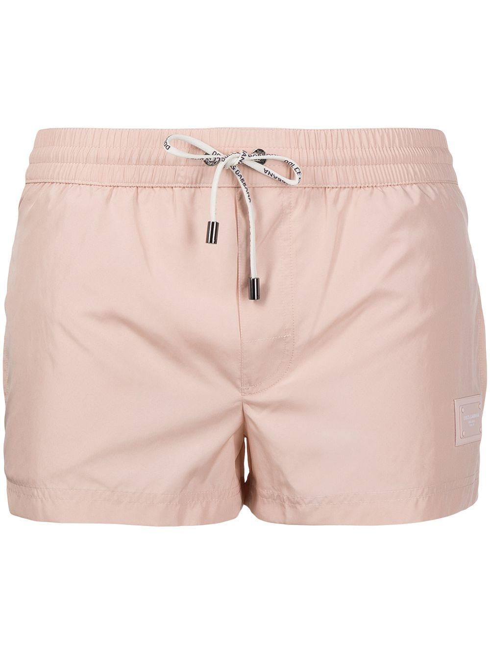 Costume da bagno rosa con logo Dolce & Gabbana DOLCE & GABBANA | Costumi | M4B11T-FUSFWM0121