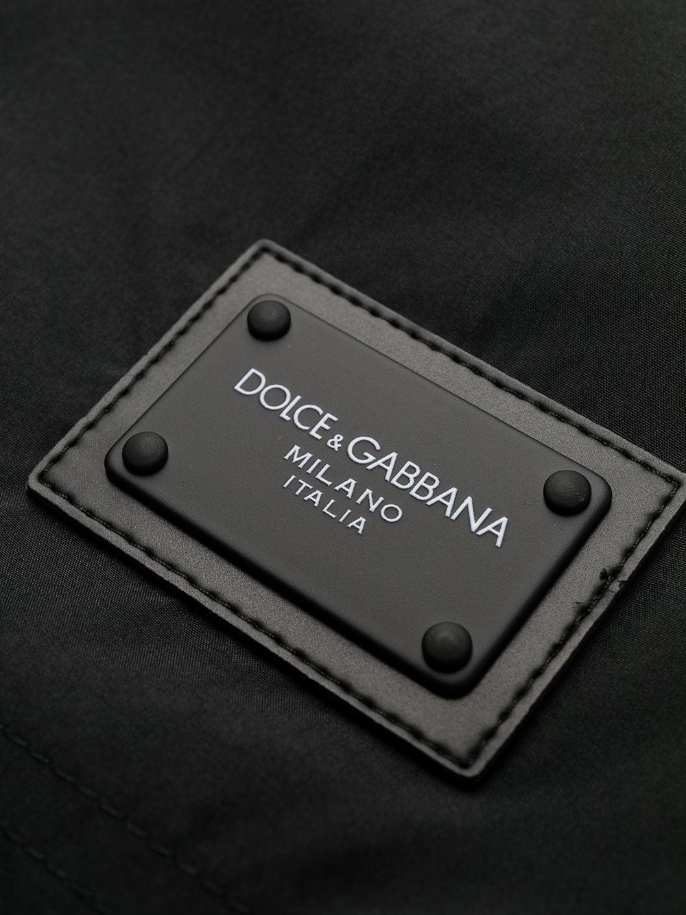 Black Dolce & Gabbana logo patch swimming shorts   DOLCE & GABBANA |  | M4B12T-FUSFWN0000