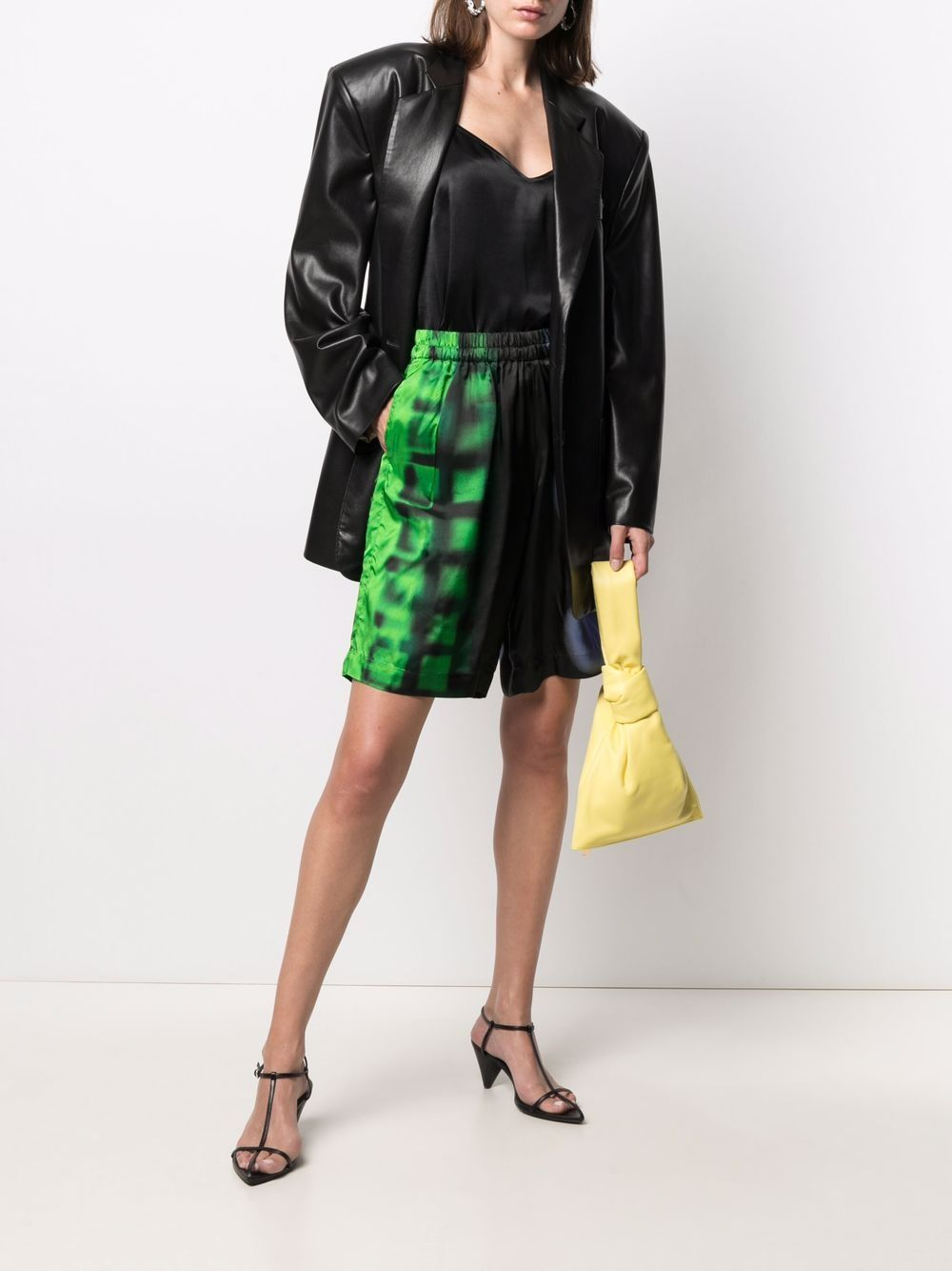 multicoloured cotton Pomar mixed-print shorts  DRIES VAN NOTEN |  | POMAR LONG-10954-2068604