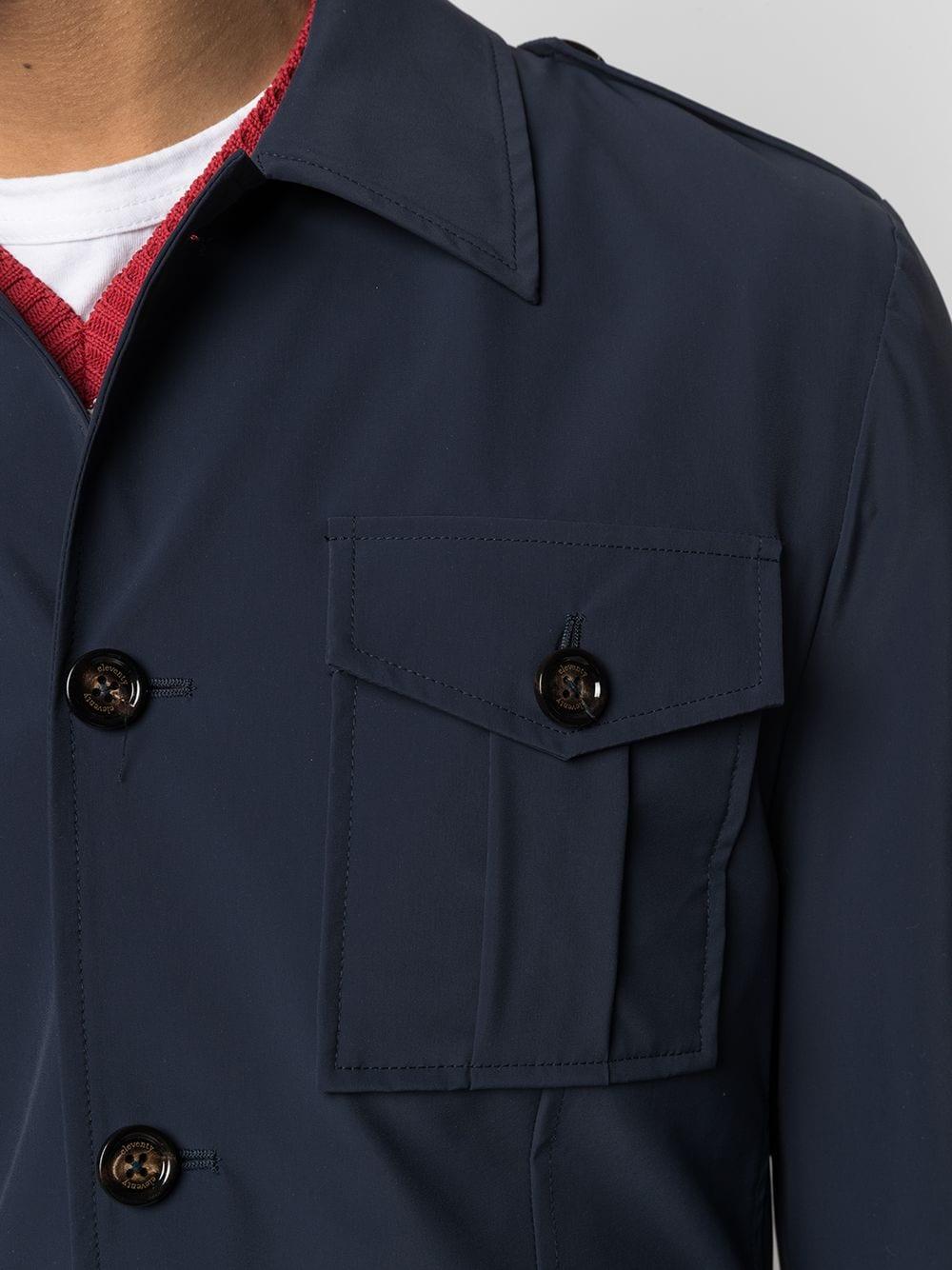 Giacca blu navy con multi tasche frontali ELEVENTY | Giacche | C75GIAC01-TES0C19511