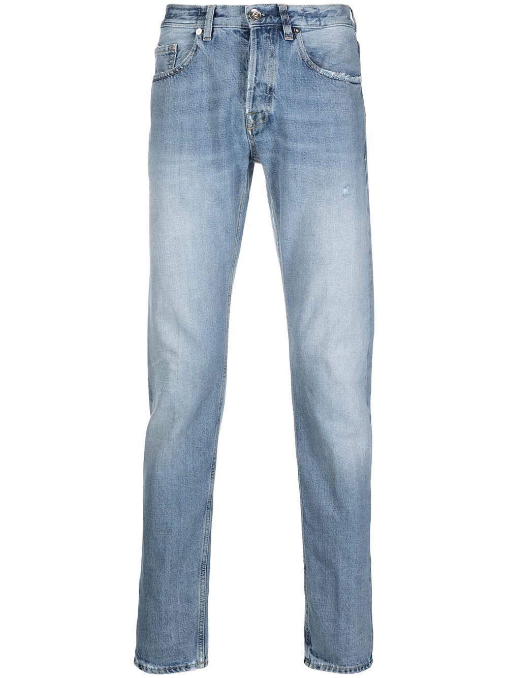 Blue cotton denim straight-leg jeans  ELEVENTY |  | C75PANC06-TET0C01008