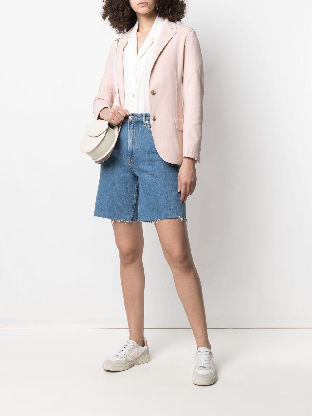 Soft pink cotton blend classic tailored blazer  ELEVENTY |  | C80GIAA05-TES0A16271