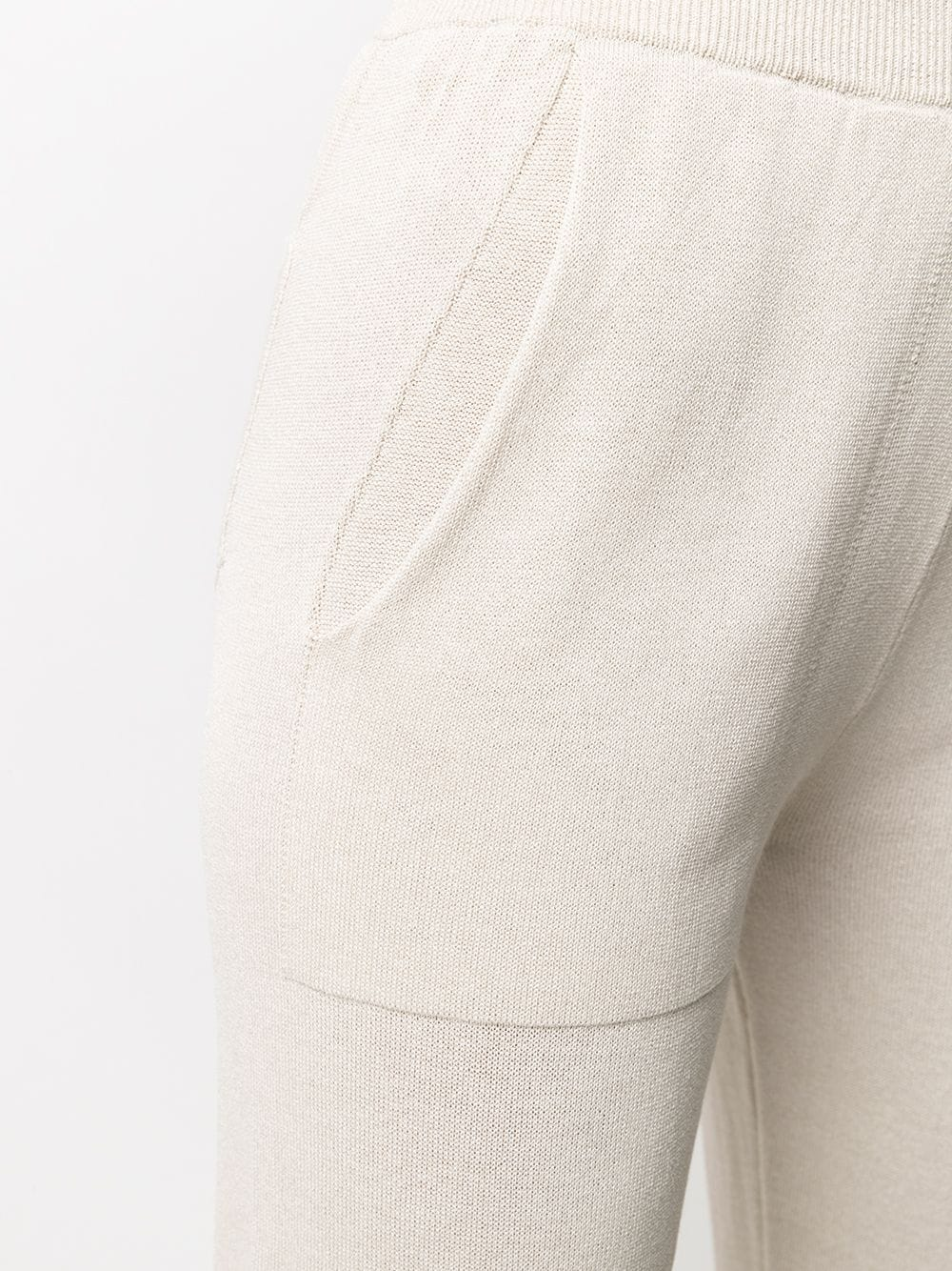 Beige knitted drawstring trousers  ELEVENTY |  | C81PANB01-MAG0C06500
