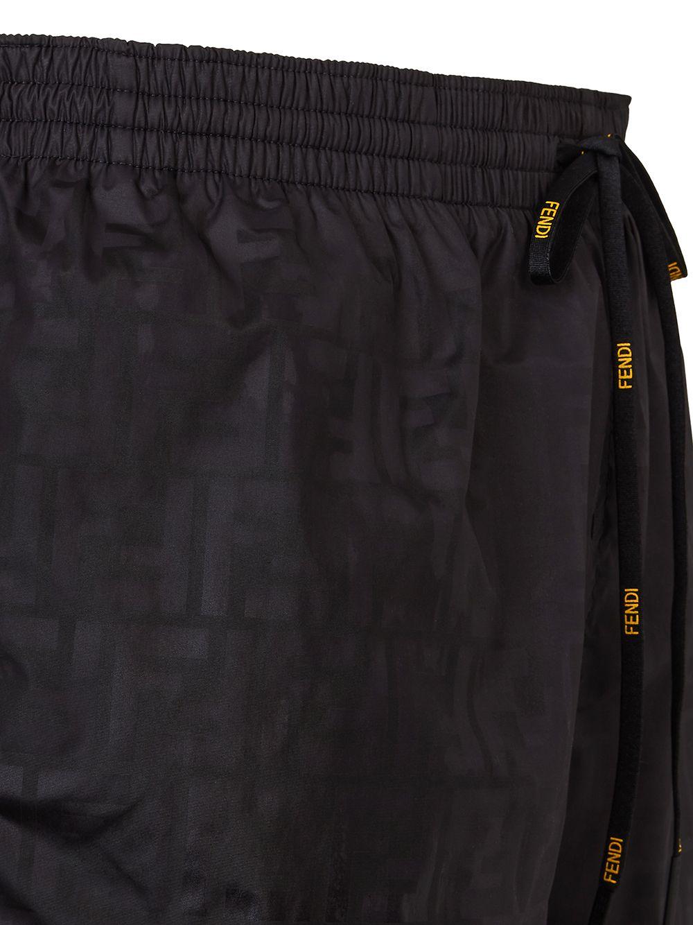 black FF-print swim shorts  FENDI |  | FXB077-AGBRF0GME