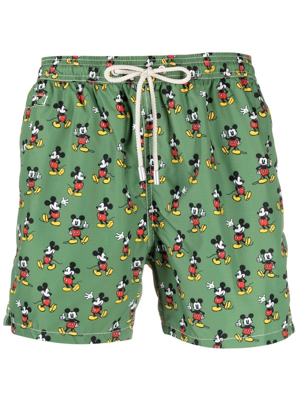 Green recycled polyester Mickey Mouse-print swimming trunks  MC2 |  | LIGHTING MICRO FANTASY-MICKEY LOOP52