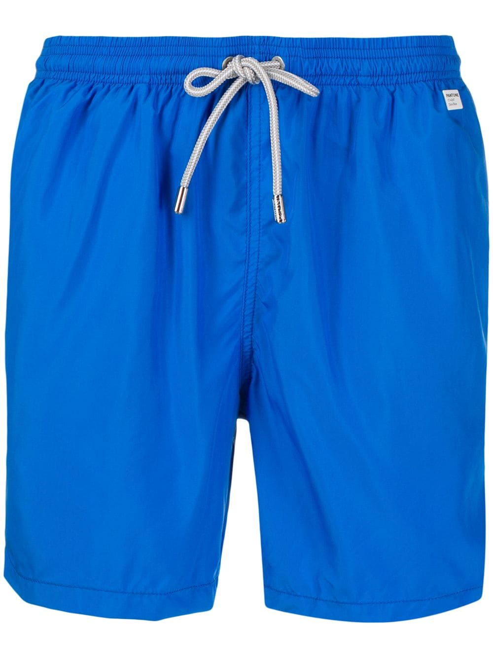 Shorts da bagno blu Pantone con coulisse in vita bianco MC2 | Costumi | LIGHTING PANTONE17