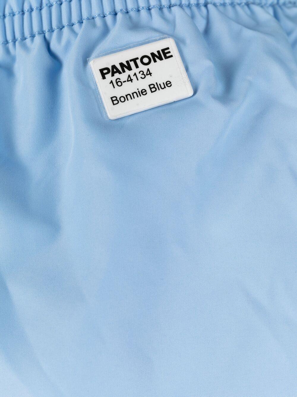 Pantaloncini da bagno azzurri in poliestere riciclato MC2  x Pantone MC2   Costumi   LIGHTING PANTONE30