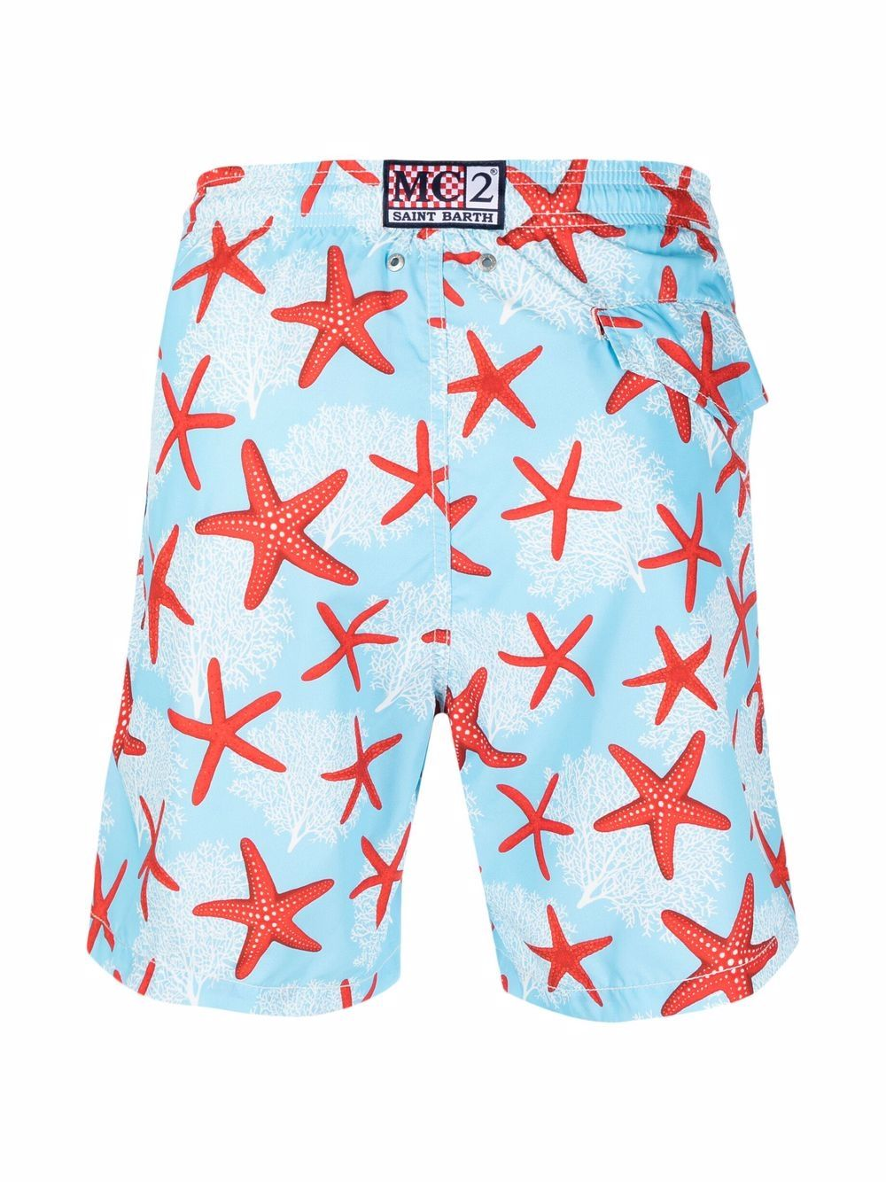 pantaloncini da bagno blu in poliestere riciclato MC2 | Costumi | LIGHTING-WONDERSEA31