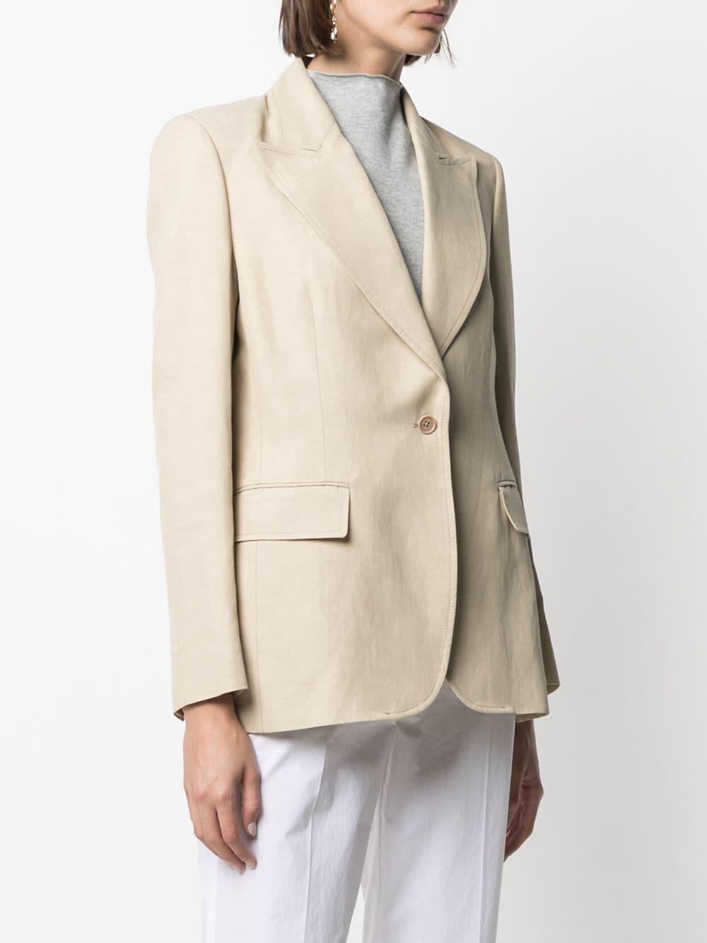 Blazer beige aderente P.A.R.O.S.H. |  | D420104-RAISA004