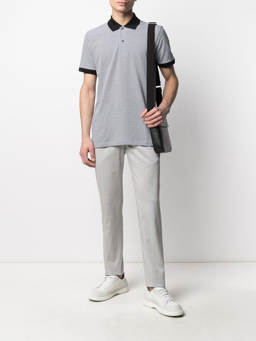 Grey cotton blend straight leg chinos  PT01 |  | COWTJ1ZA0TVL-NU050020