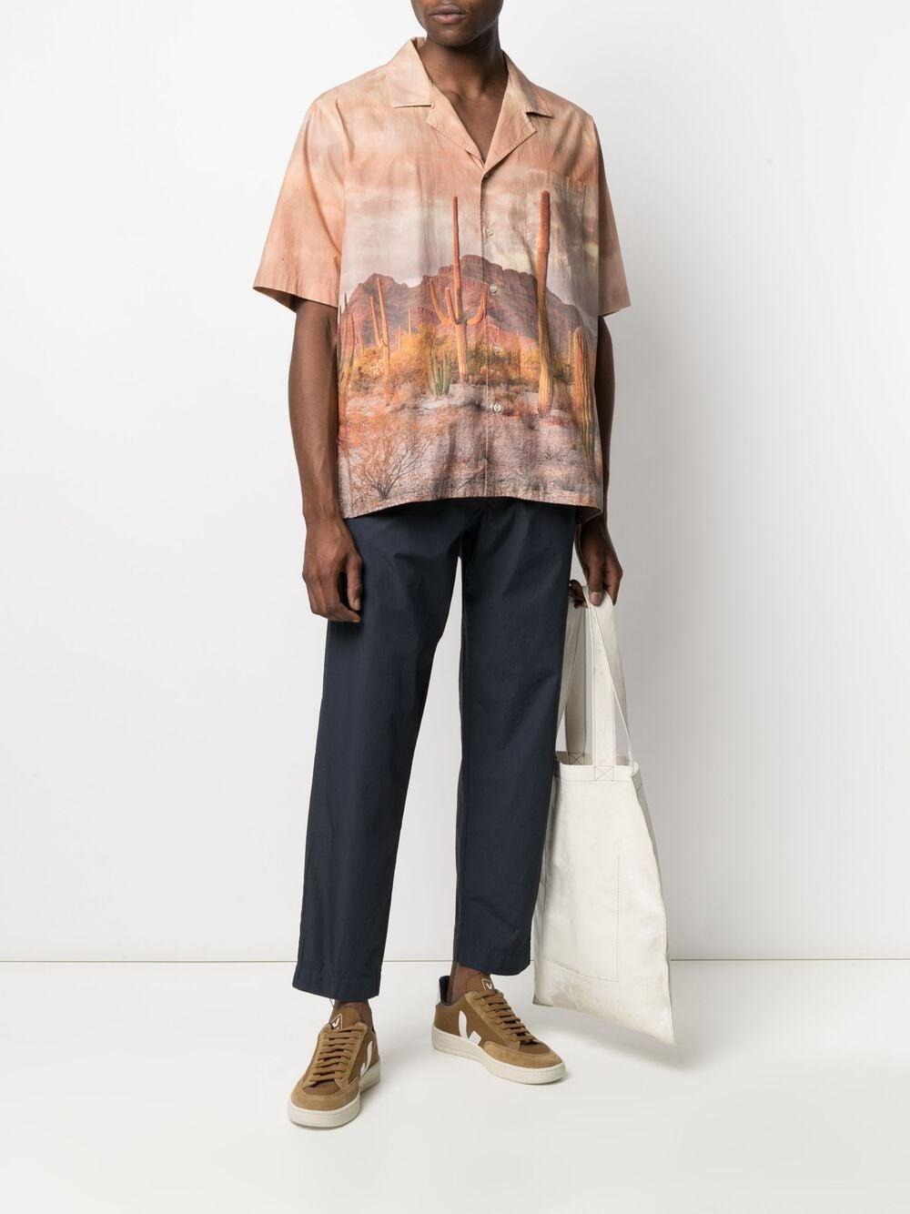 Navy blue cotton drawstring-waist tapered trousers  TRANSIT |  | CFUTRN-B111U05