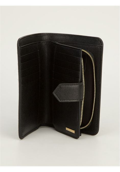 black calf leather wallet purse  FENDI |  | 8M0314-F09NERO