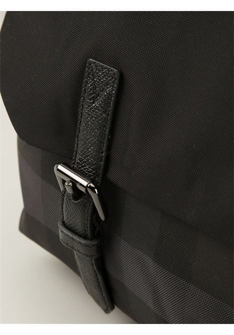 Black and grey 'Nova check' satchel  BURBERRY |  | 3890804-SM SUNDORNENERO