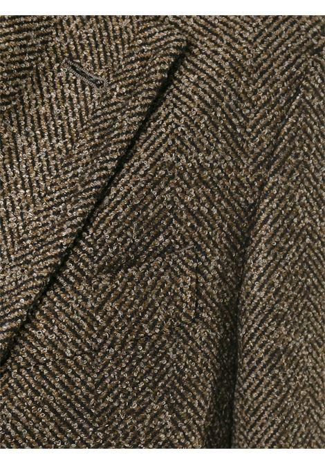 brown long virgin wool single-breasted coat  BOGLIOLI |  | C2701Z-BFC4190351