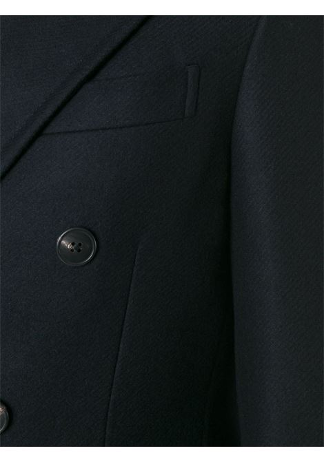 blue long double-breasted coat in virgin wool  BOGLIOLI |  | C3601P-BFC200790