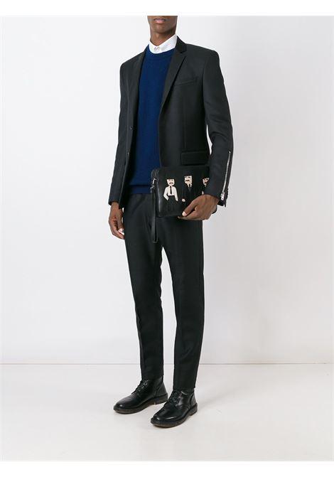 Black leather Sicilian Men clutch  DOLCE & GABBANA |  | BM1253-AP92080999