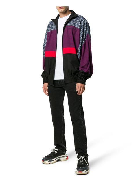 patchwork design lightweight jacket  BALENCIAGA |  | 533918-TBM154324
