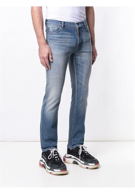 Jeans slim fit in misto cotone blu BALENCIAGA | Pantaloni | 534525-TAP078469