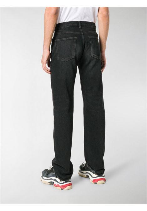 Black mid rise small fit straight leg jeans  BALENCIAGA |  | 542988-TXE031055