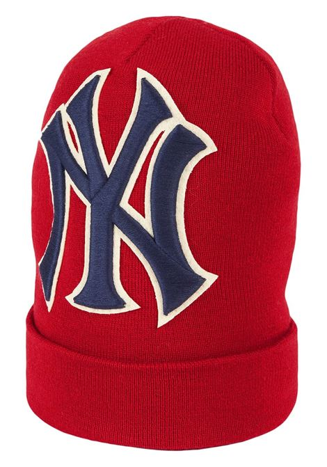 red wool hat with New York Yankee front logo GUCCI |  | 542719-4G2066500