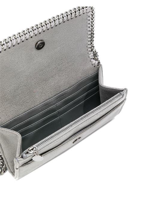shoulder bag Falabella in eco-pelle grigia e catena argentata STELLA MC CARTNEY | Borsa | 498492-W91321220