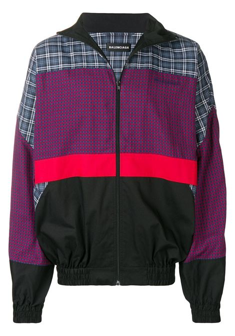 patchwork design lightweight jacket  BALENCIAGA |  | 533918-TBM154324