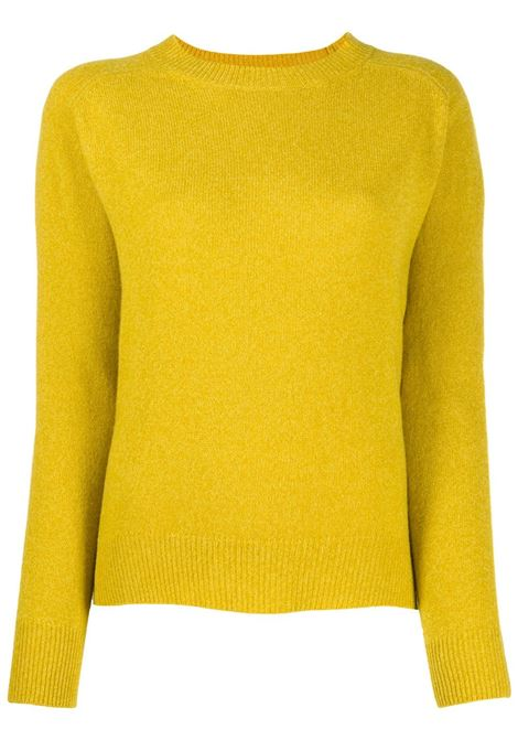Mustard yellow wool raglan jumper  ALBERTO ASPESI |  | 4027-562385153