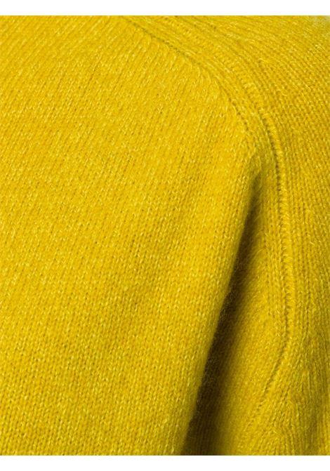 Maglione raglan in lana giallo senape ALBERTO ASPESI | Maglieria Moda | 4027-562385153