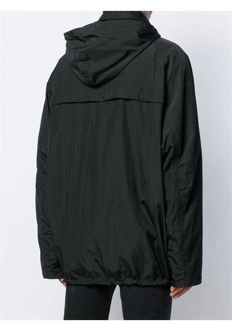 black technical nylon anorak jacket featuring a funnel neck BALENCIAGA |  | 583905-TFO051000