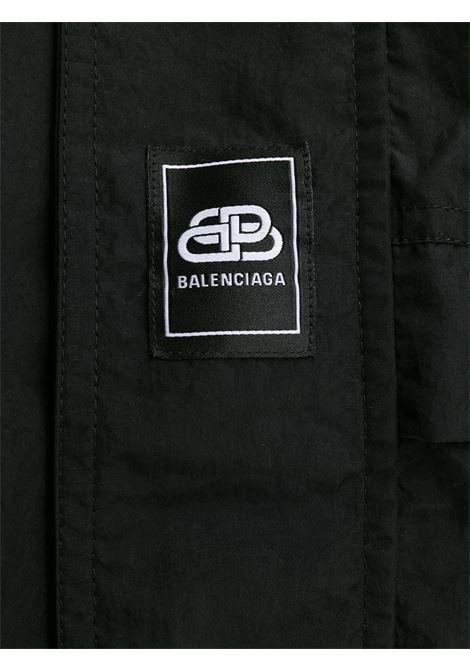 giacca anorak in nylon tecnico nera con collo a imbuto BALENCIAGA | Giubbini | 583905-TFO051000